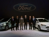 Ford Senior Management with C-MAX Energi and Focus Electric