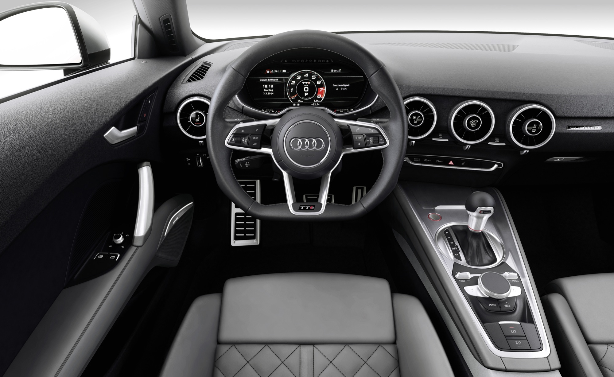 Refcars 2015 audi tt interior teaser 2017 2018 best for Audi tt interieur