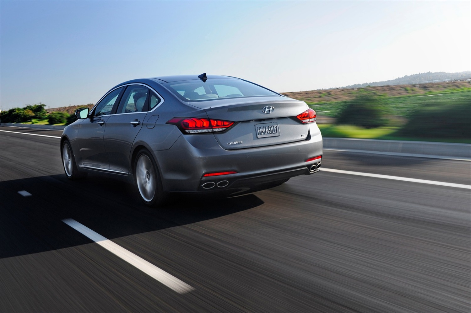 Hyundai Reportedly Considering Mating V8 And AWD For 2015 Genesis