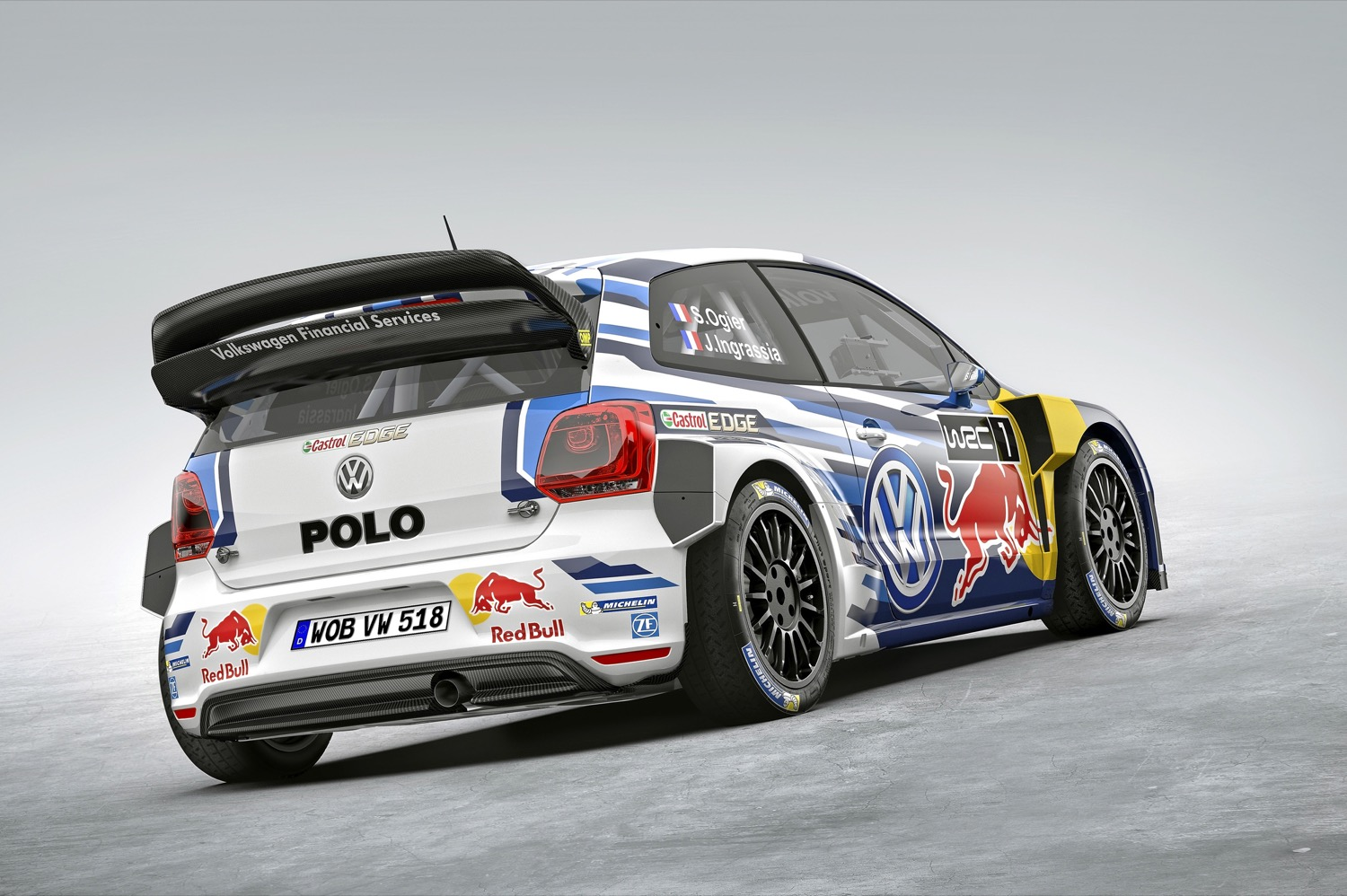 volkswagen unveils new polo r wrc. Black Bedroom Furniture Sets. Home Design Ideas