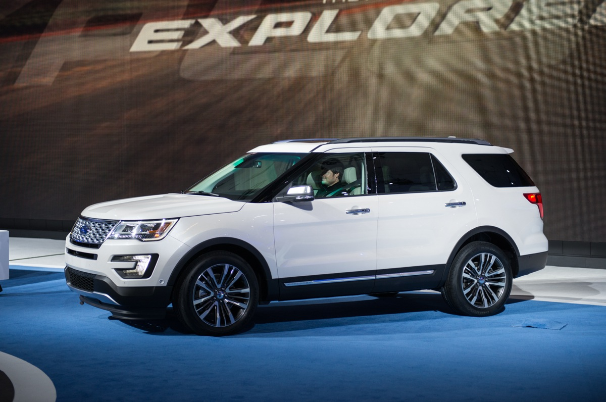 2016 ford explorer pricing announced. Black Bedroom Furniture Sets. Home Design Ideas