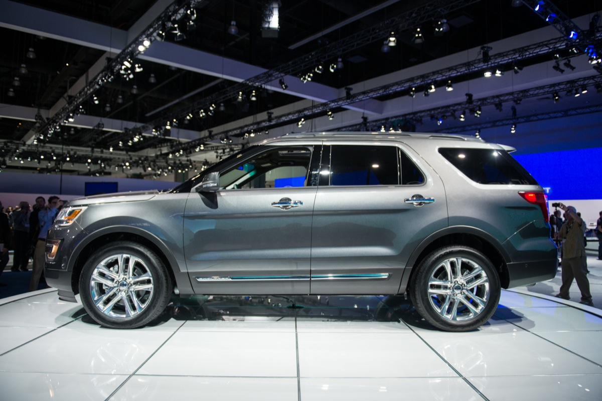 2016 Ford Explorer Los Angeles Auto Show