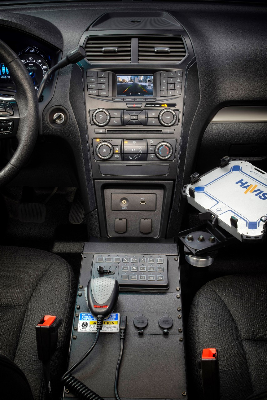 ... ford unveils 2016 police interceptor utility rh motrolix com Ford Electrical  Wiring Diagrams Ford Radio Wiring