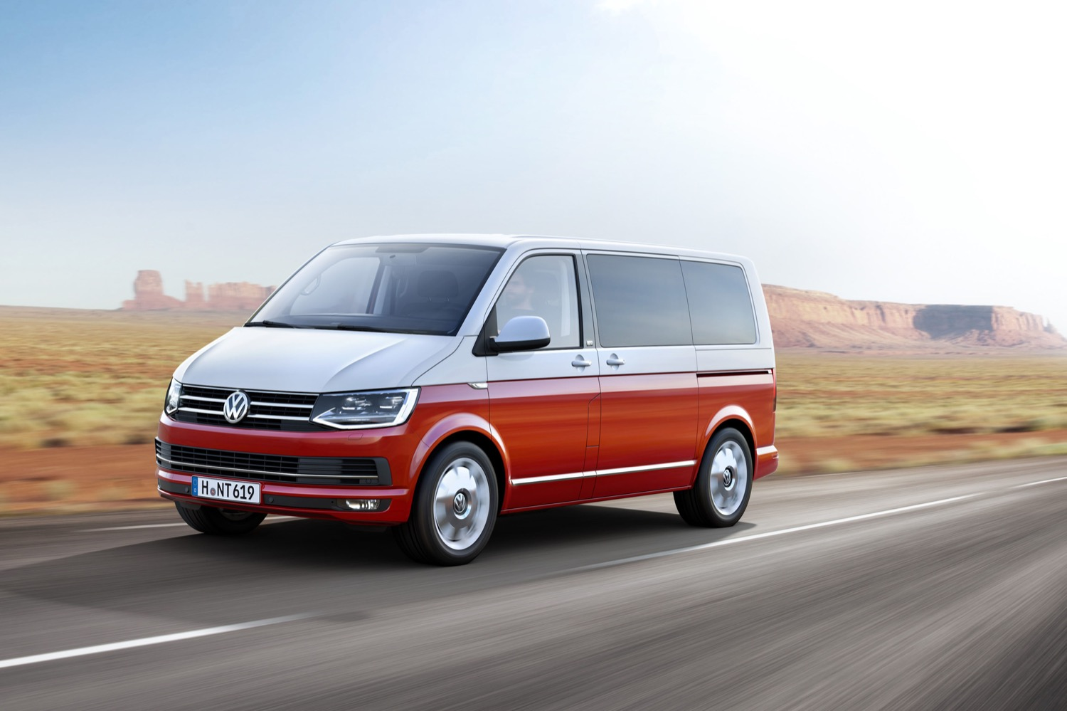 volkswagen officially reveals transporter t6 van line. Black Bedroom Furniture Sets. Home Design Ideas
