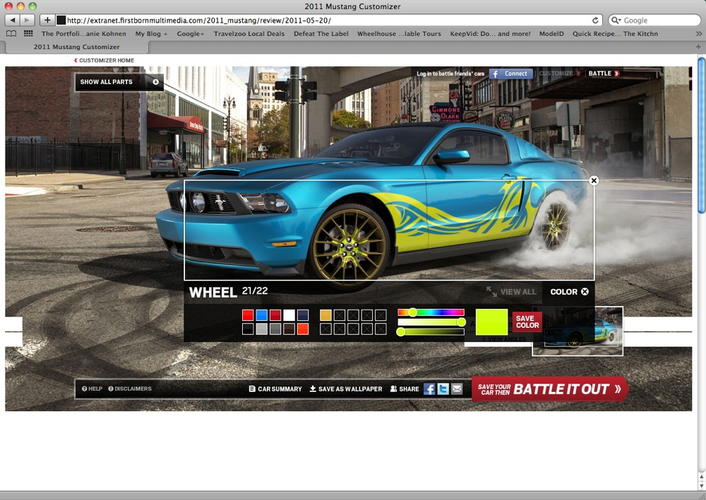 build your ultimate stang with ford s new mustang customizer