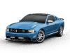 A 2012 Ford Mustang by H&R Springs