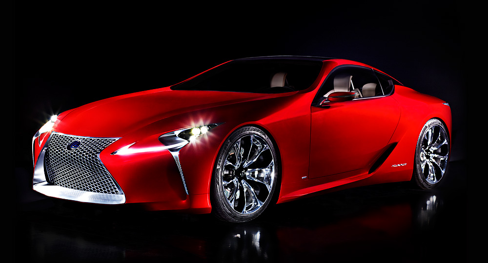 The New Concept Car from Lexus