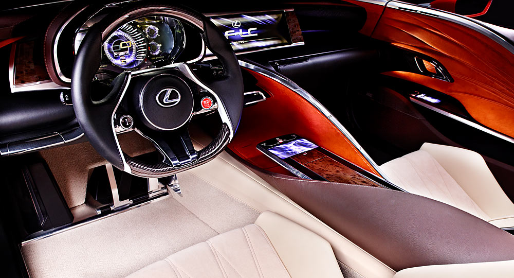 What Kind Of A Vehicle Will The Lexus Lc500 Be