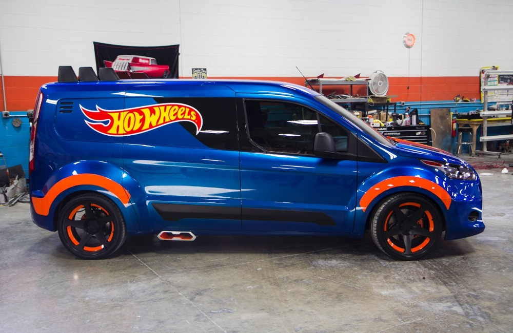 Sema 2013 Ford Transit Connect Hot Wheels Cargo Van