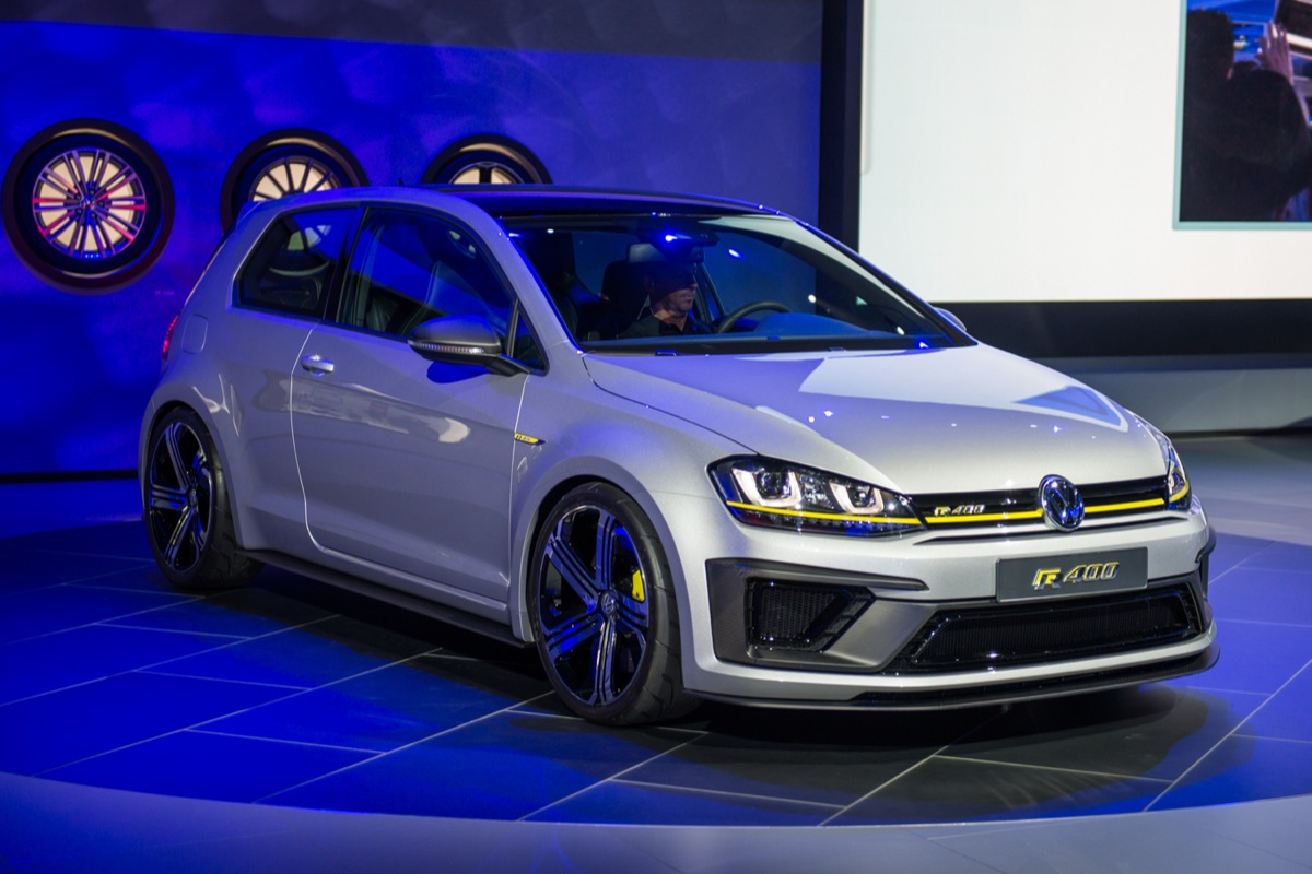 vw golf r400 concept does 0 62 in under 4 seconds. Black Bedroom Furniture Sets. Home Design Ideas