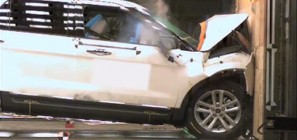 Reinvented 2011 Ford Explorer Earns Top Safety Pick