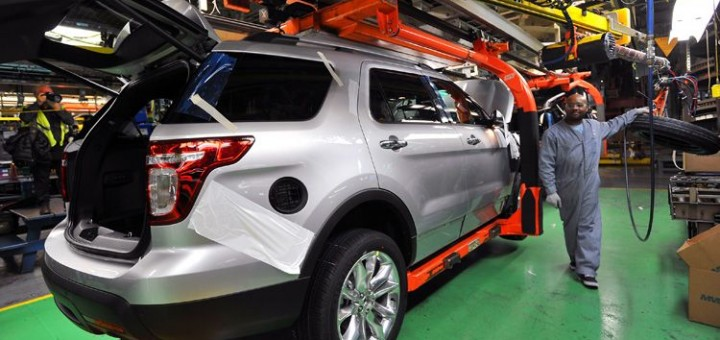 2011 Ford Explorer Enters Production