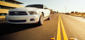 2011 Ford Mustang with Pony Package