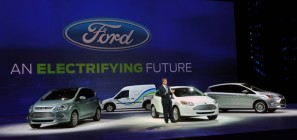 Bill Ford Speaks with Media at 2011 NAIAS