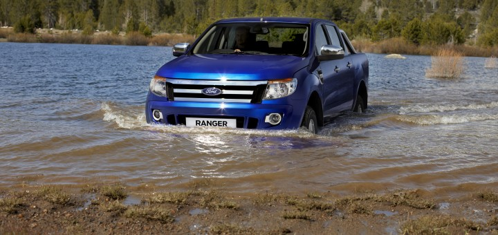 2011 Ford Ranger Wading Water
