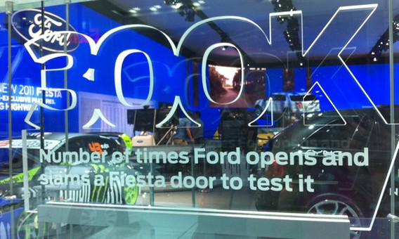 300K - Number of times Ford opens and slams a Fiesta door