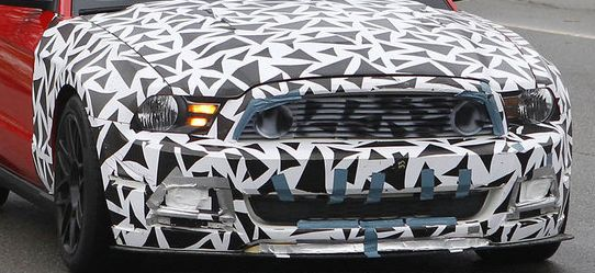 New Ford Mustang Spied