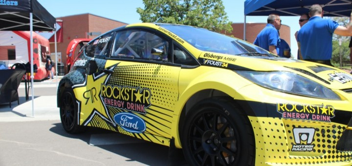 2011 Tanner Foust's Ford Fiesta - SuperRally 10