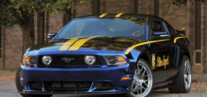 Blue Angels Mustang