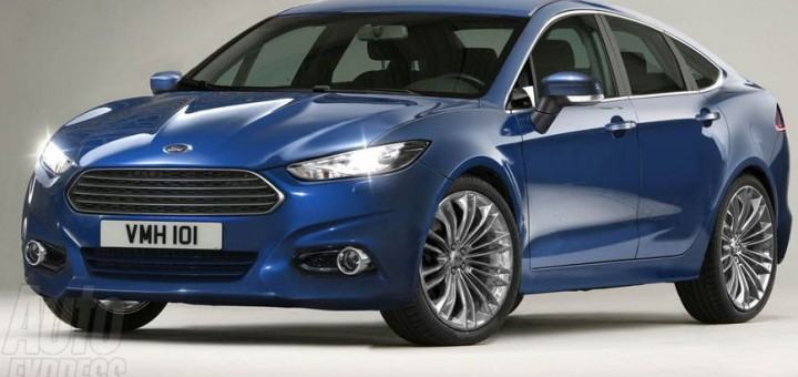 All-New Ford Mondeo Rendering