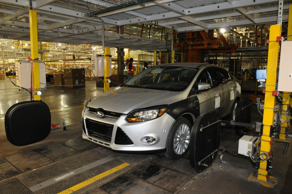 Ford assembly plants in michigan for Ford motor company wayne mi