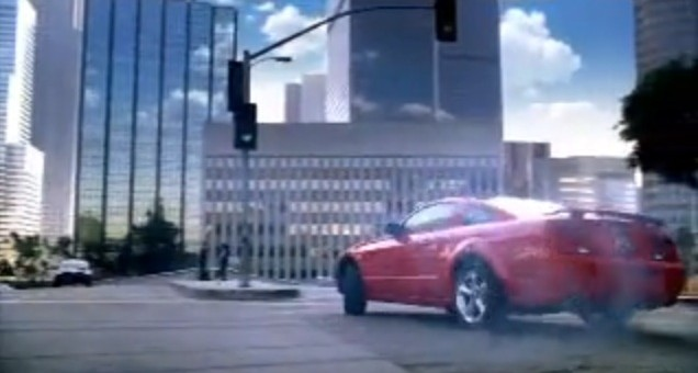 2008 Ford Mustang commercial
