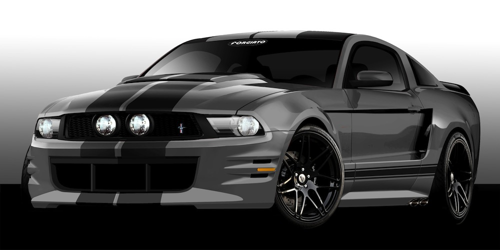 sema 2011 tuned ford mustangs inspire personalization. Black Bedroom Furniture Sets. Home Design Ideas