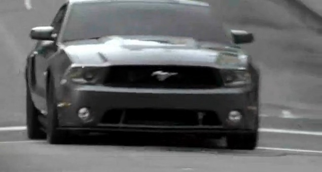 Ford Mustang V6 launch commercial