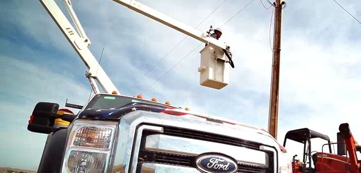 Ford Super Duty At Work