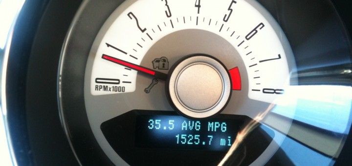 2012 Ford Mustang - 35 MPG