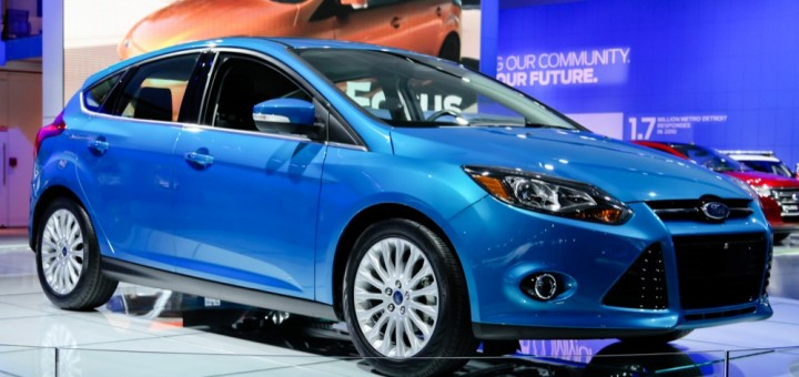 2012 Ford Focus Titanium Hatch - NAIAS 2011 6