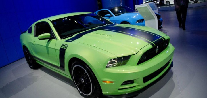 2013 Mustang Boss 302 Gotta Have It Green - Detroit Auto Show 2012