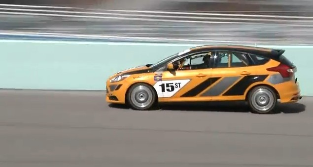 Tanner Foust Ford Focus ST-R Miami-Homestead Speedway