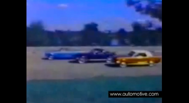 1966 Ford Mustang Commercial - Hard top Fastback Convertible lined up