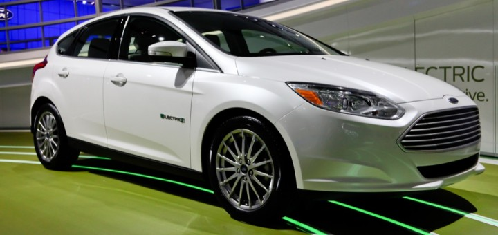 2012 Ford Focus Electric Hatch - NAIAS 2011 2