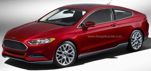 2013 Ford Fusion Coupe Front