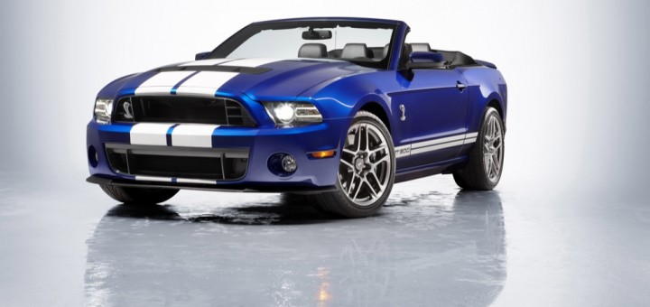 2013 Ford Shelby GT500 convertible
