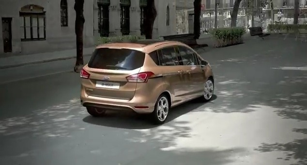 Ford B-MAX Animation Video