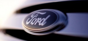 Ford Logo - Tribar Grille