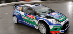 Peter Solberg Ford Fiesta RS WRC Rally