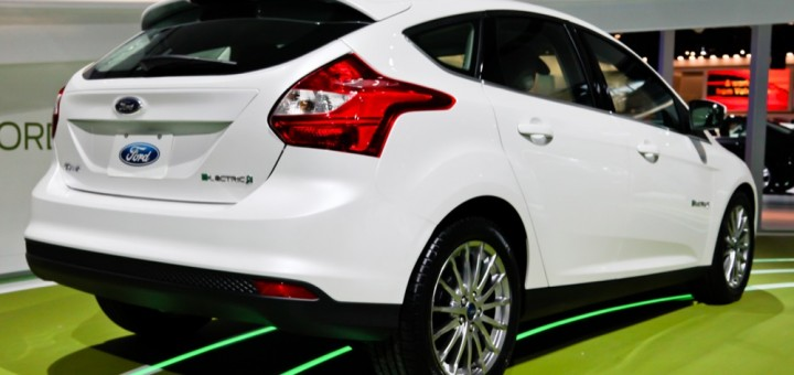 2012 Ford Focus Electric Hatch - NAIAS 2011 4