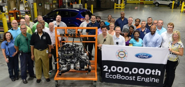 2 Millionth EcoBoost Engine 1