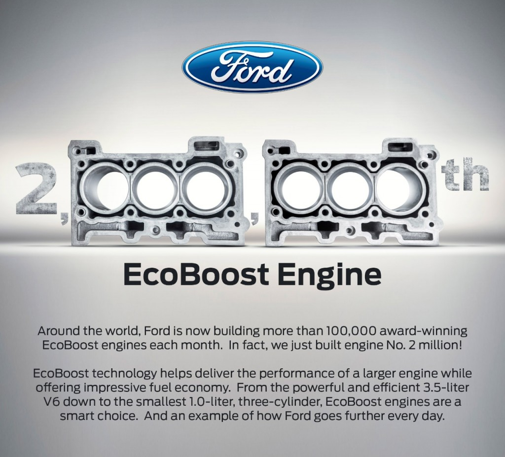 2 Millionth EcoBoost Engine 2