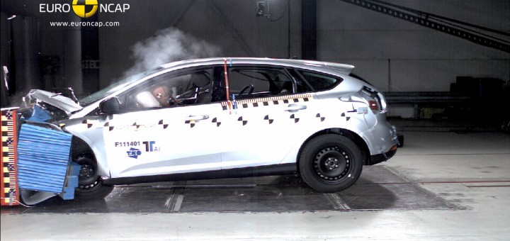 2011 Ford Focus Euro NCAP Frontal Crash Test