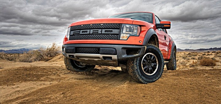 Ford F  Svt Raptor