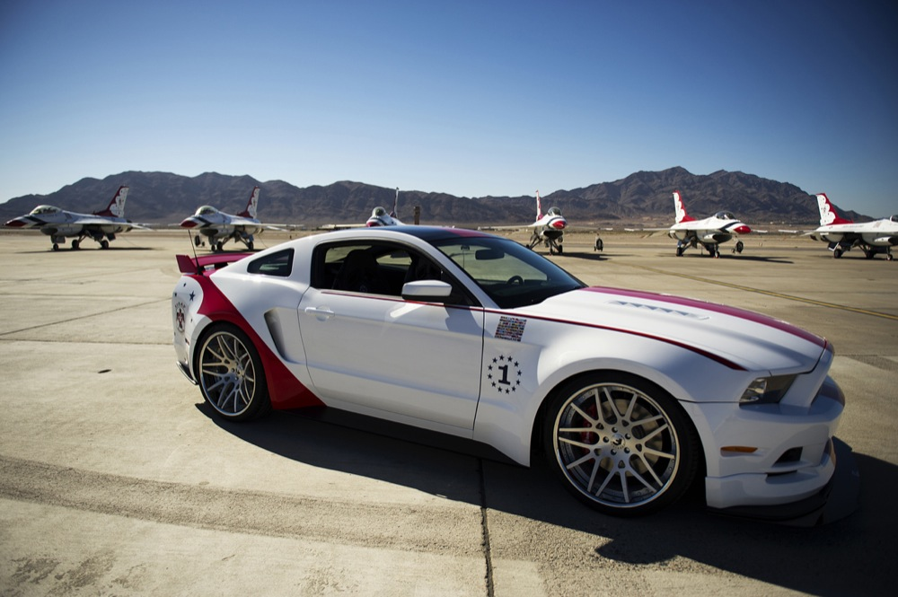 2011 ford gt40 for sale - Unique Usaf Thunderbirds Mustang Almost Nets 400 000 At