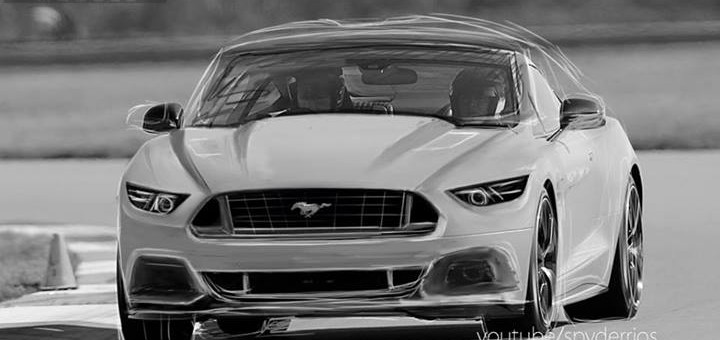 2015 Ford Mustang Rendered