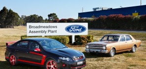 Ford Broadmeadows Plant - Australia