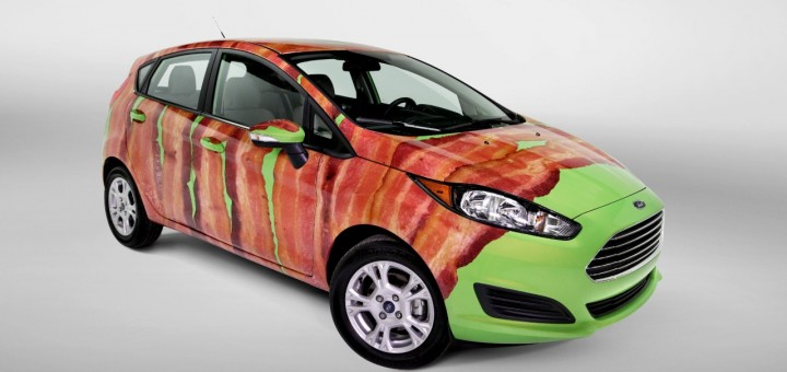Ford Fiesta Bacon Wrap