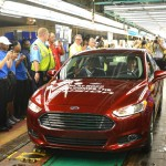 Ford Flat Rock Assembly Plant - Fusion Production Begins 1